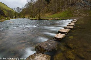 Stepping stones on the Dove