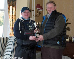 Winner John Watson and trophy