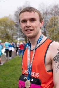 Half Marathon finisher.