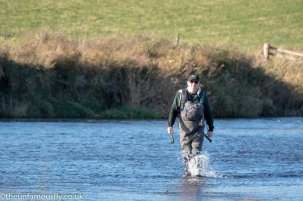 John stomps out the river
