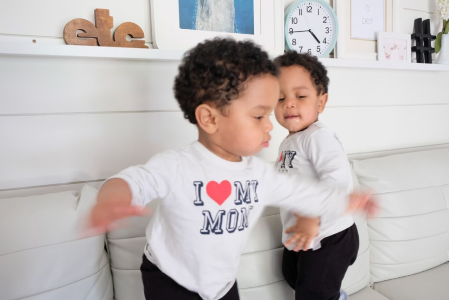 raising twin toddlers