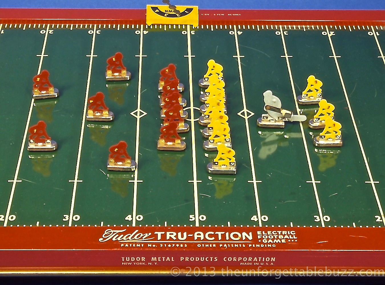 Tudor Electric Football Game