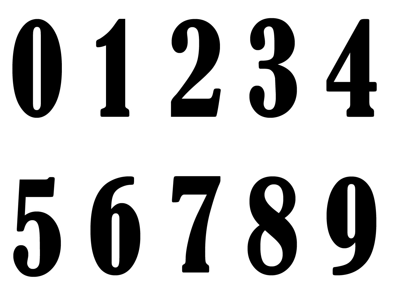 Naming The Decade 10 Digits