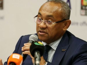 CAF president Ahmad Ahmad has been banned for five years over corruption.