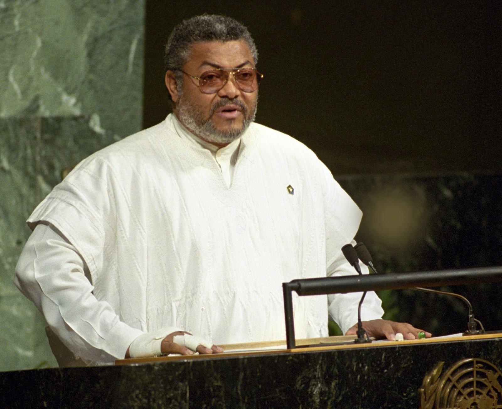 Jerry Rawlings, Ex- Ghana's President
