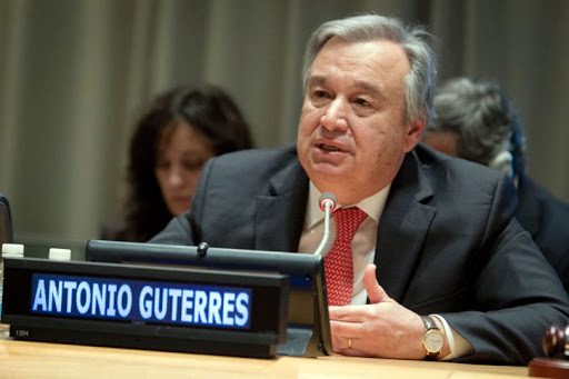 Secretary-General of the UN, Mr. António Guterres