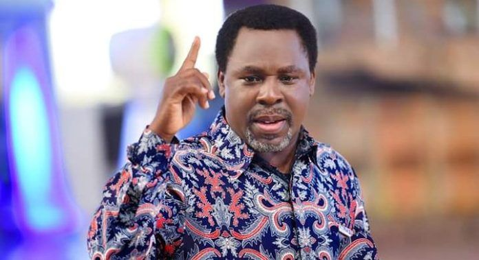 Popular Nigerian Christian preacher Temitope Balogun TB Joshua