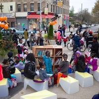 Uni returns to Brownsville for Halloween at Zion Plaza