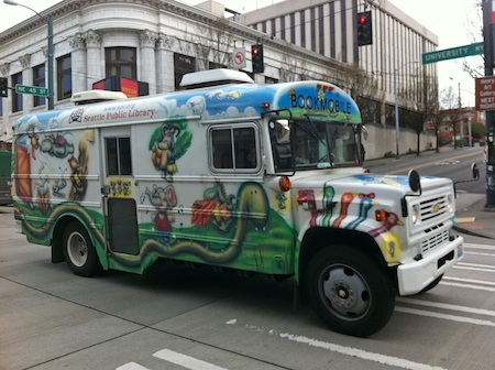 Seattle: chasing the bookmobile