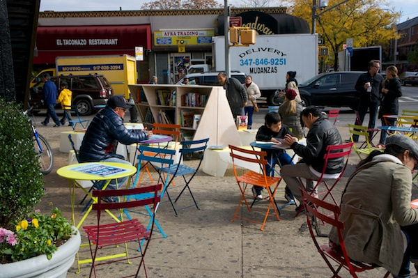 Uni deploys to empty lot in Queens to help envision new public space