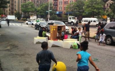 Uni at West Harlem Play Street, 2014
