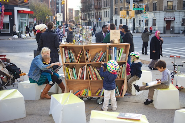 Uni reading room helps residents envision new plaza in Brooklyn