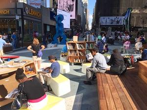 Strategic partnerships with NYC DOT, NYC Parks, and NYPL.