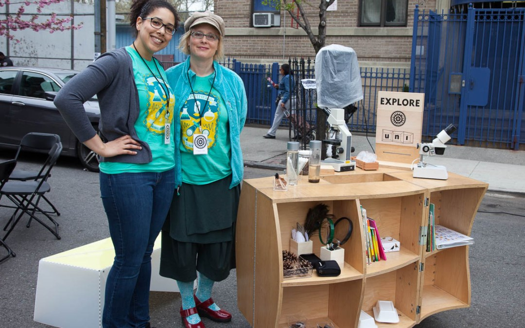 Uni Project partners with HYPOTHEkids to launch new STEAM cart in the Bronx