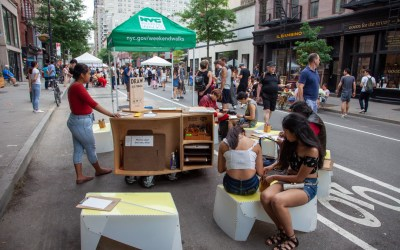 DRAW NYC pops up on 8th Street in the Village