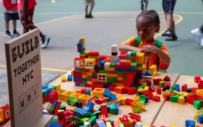 Uni Project brings BUILD NYC to Forest Houses play street