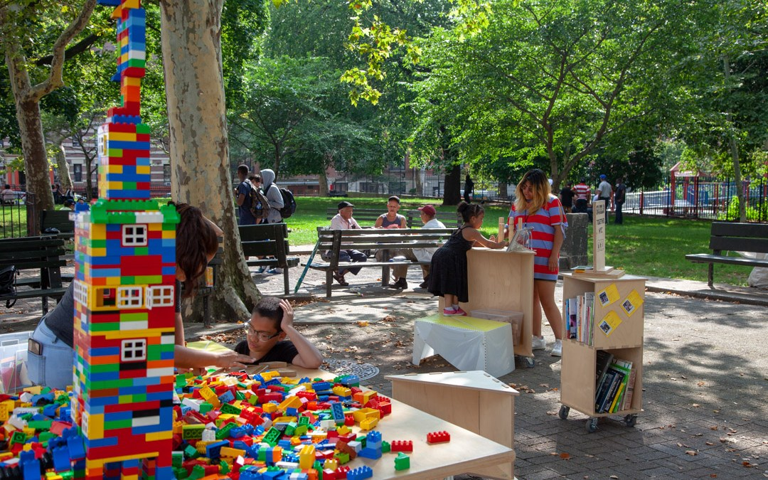 Uni Project returns to Jacob Schiff Playground with BUILD NYC