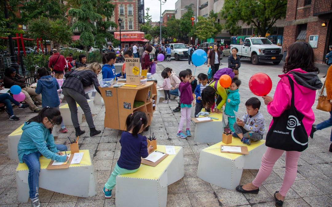 Hands-on exhibit about urban nature (EXPLORE) returns to NYC Chinatown.