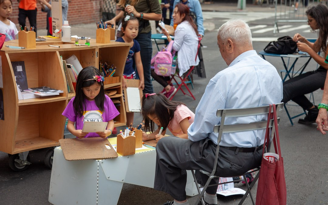Help bring opportunities for learning and creativity to NYC Chinatown this fall