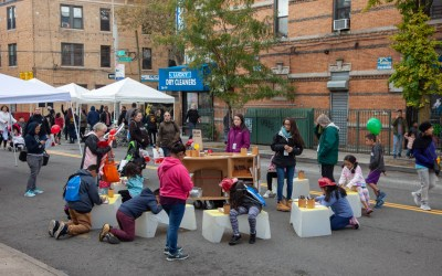 Drawing together in Ridgewood