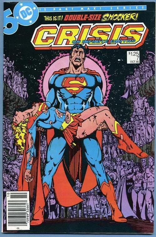 Crisis on Infinite Earths #7 - The Death of Supergirl