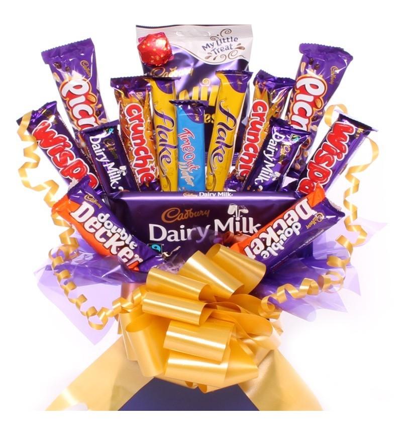 Cadbury Chocolate Bouquet An Arrangement Of Cadbury