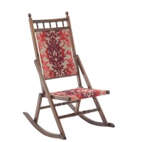 Edwardian Folding Rocking Chair - The Unqiue Seat Company