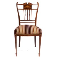 Victorian Occasional Chair - The Unique Seat Company