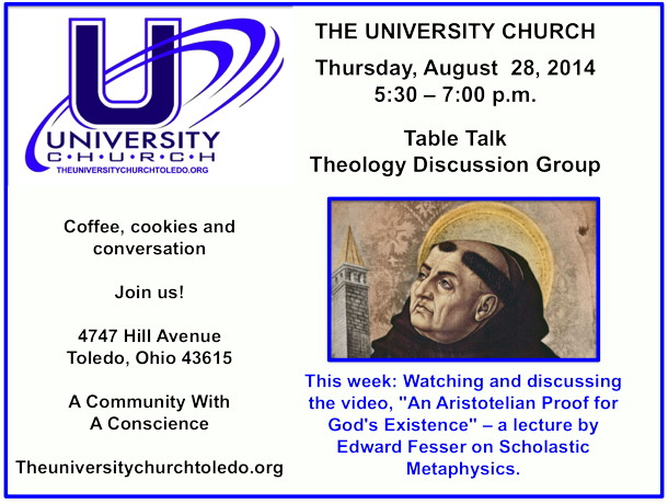 August 28 2014 theology group
