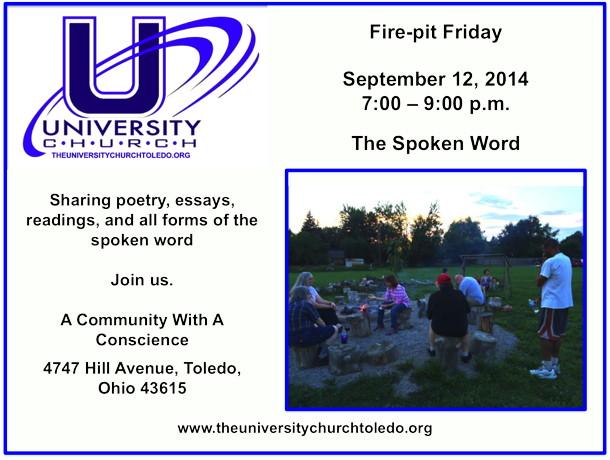 Firepit Friday Sept 12 2014