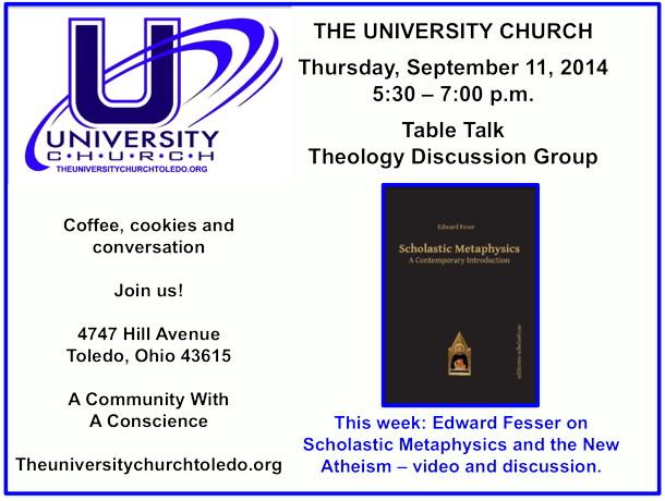 September 11 2014 theology group