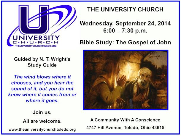 September 24 2014 Bible Study