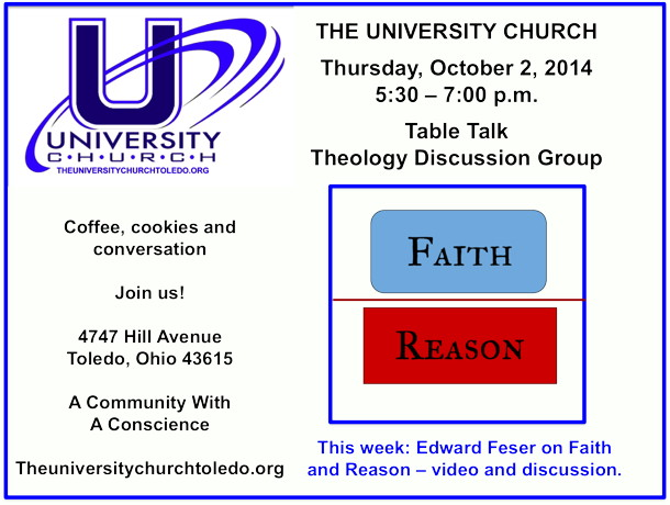 October 2 2014 Theology Group