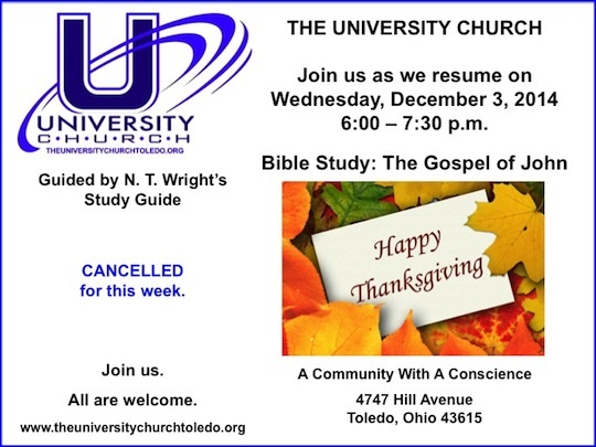 11.26.14 Bible Study