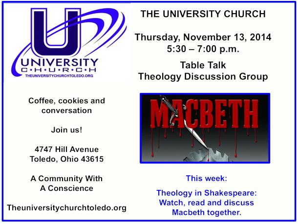 November 13 2014 theology group