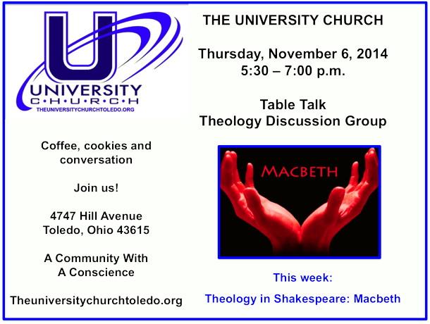 November 6 2014 theology group