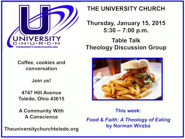 January 15 2015 Theology Group