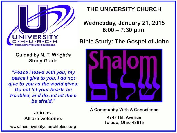 January 21 2015 Bible Study