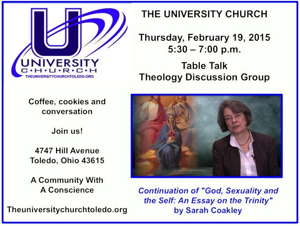 February 19 2015 Theology Group