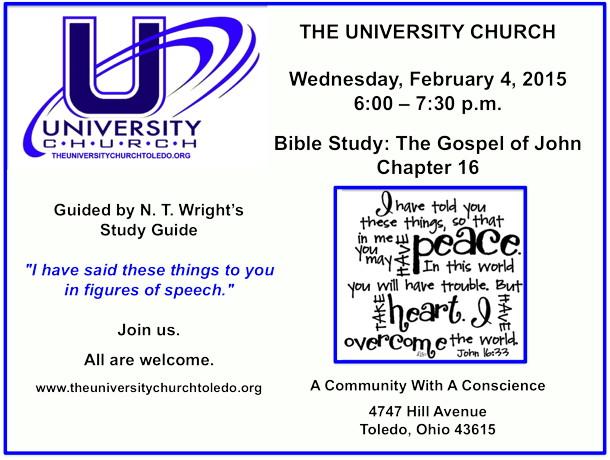 February 4 2015 Bible Study