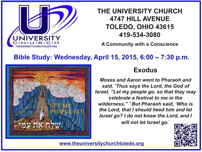 April 15 2015 Bible Study