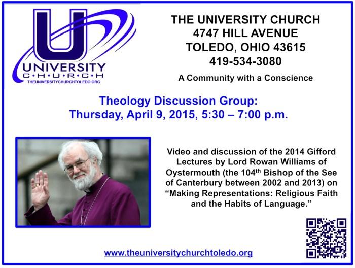 April 9 2015 Theology Group