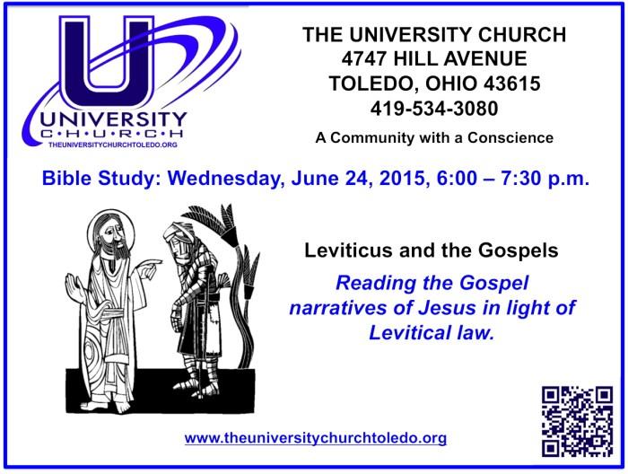 June 24 2015 Bible Study