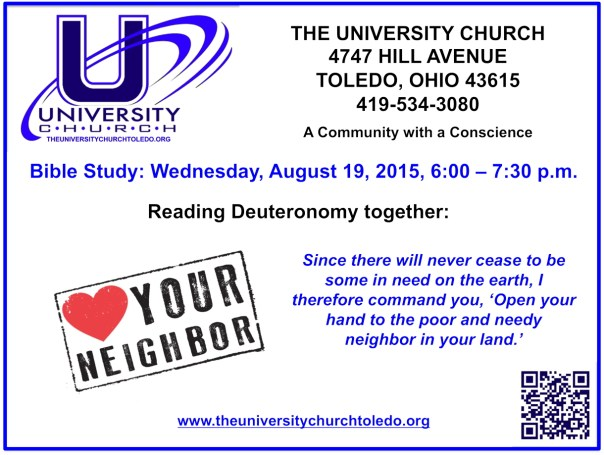 August 19 2015 Bible Study