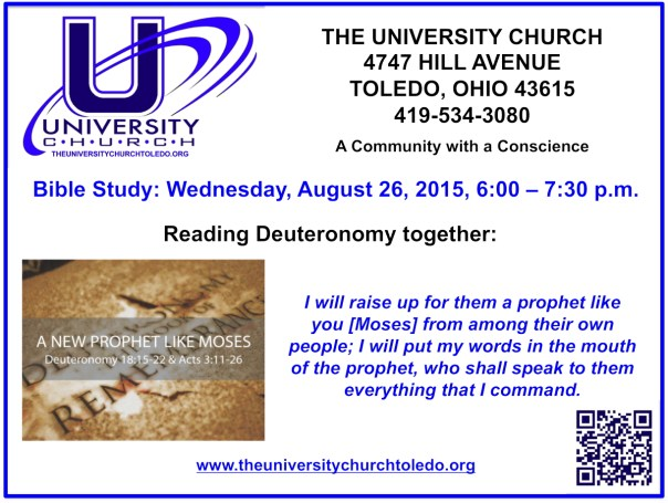 August 26 2015 Bible Study