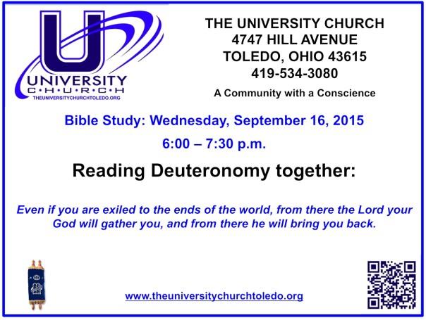 September 16 2015 Bible Study