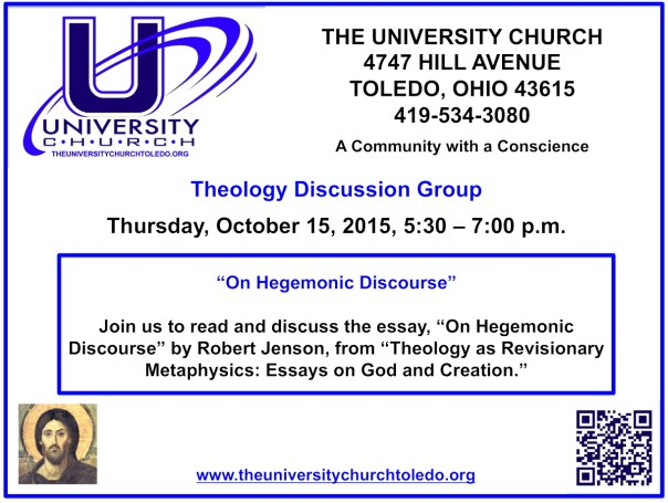 October 15 2015 Theology Group