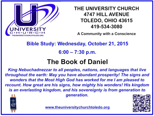 October 21 2015 Bible Study