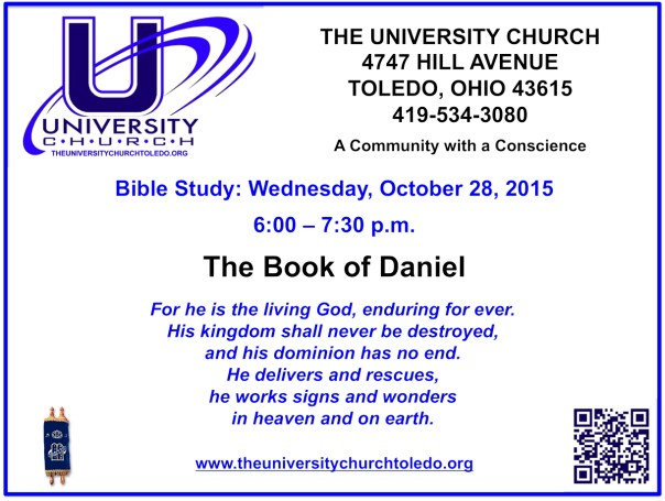 October 28 2015 Bible Study