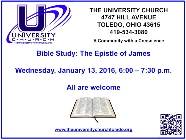 January 13 2016 Bible Study